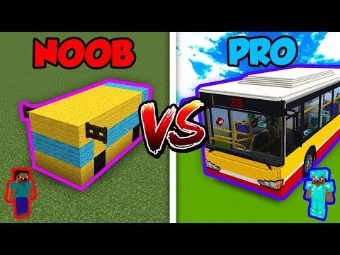 Minecraft NOOB vs. PRO: BUS in Minecraft! thumbnail