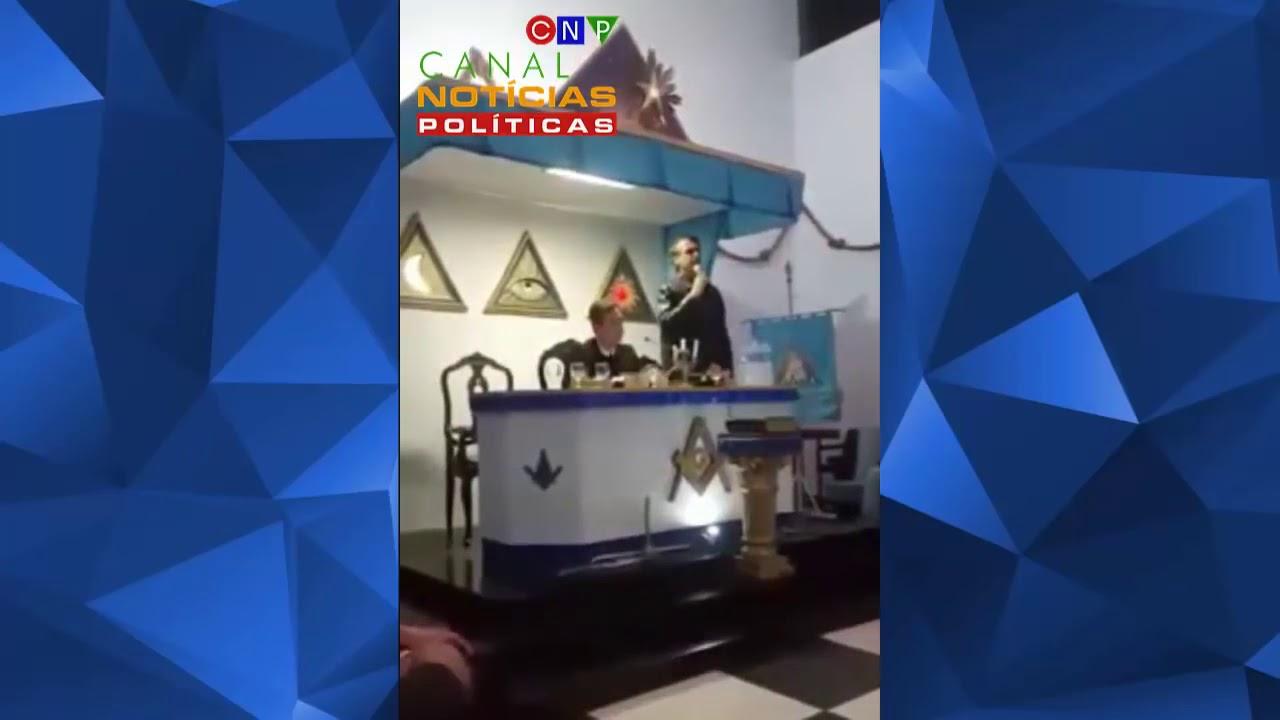 VÍDEO DE BOLSONARO PALESTRANDO NA MAÇONARIA