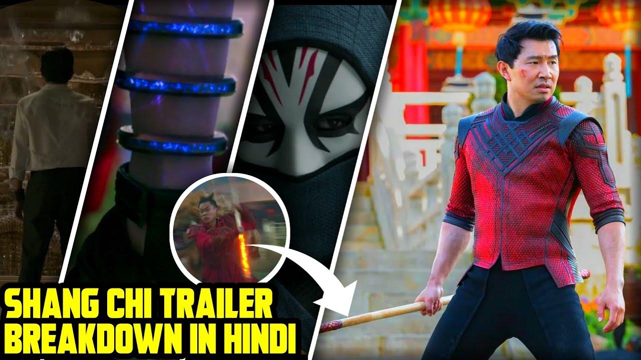 Shang Chi Trailer Breakdown