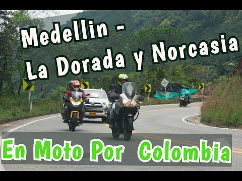 En Moto Por Colombia con Moto Touring Antioquia Ruta Medellin - La Dorada y Norcasia Caldas