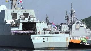 M140820B シンガポール海軍フリゲート『イントレピッド』 横須賀入港