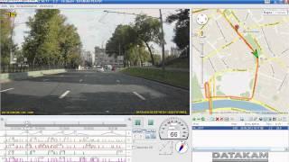 Программа для синхронного просмотра GPS  и видео автомобильного видеорегистратора DATAKAM(Программа для синхронного просмотра GPS и видео автомобильного видеорегистратора DATAKAM Конструкторское..., 2012-09-01T18:28:03.000Z)