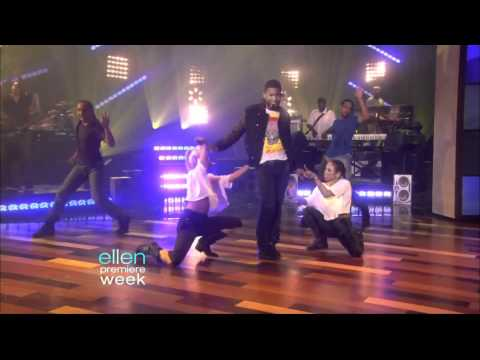 Usher  DJ Got Us Fallin in Love  on Ellen DeGeneres 091410