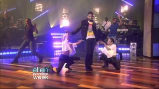 Usher - DJ Got Us Fallin in Love Live on Ellen DeGeneres 09-14-10