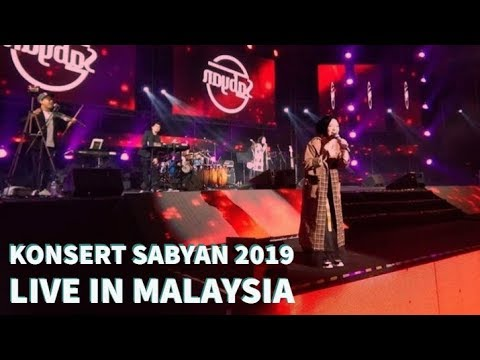 KONSERT SABYAN 2019 LIVE IN MALAYSIA