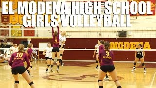 El Modena High School Volleyball Girls Highlights by Alex Iseri