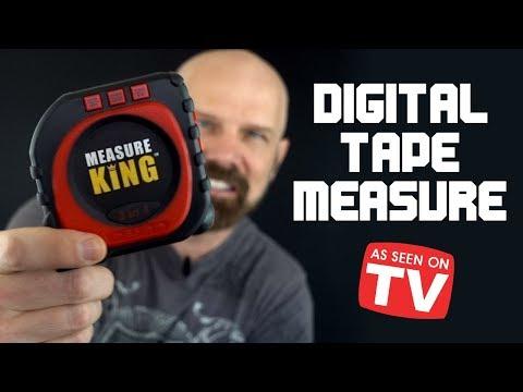Measure King Review: Digital Tape Measure As Seen on TV