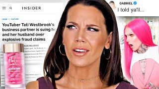 Tati Westbrook Drama Scandal