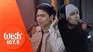 "Bugoy Drilon and Daryl Ong perform ""Kung Maibabalik Ko Lang"" LIVE on Wish 107.5 Bus"
