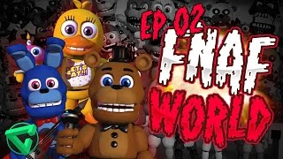 FNAF WORLD: LAS MAZMORRAS SINIESTRAS #2 - Five Nights at Freddy's World | iTownGamePlay