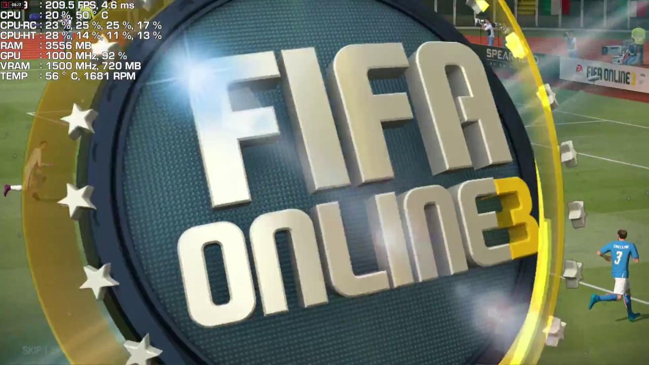 FIFA Online 3 (피파 온라인, 피온) | Core i7-6700K & Radeon R9 280X (HD 7970)