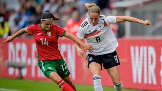Germany vs Bulgaria Extended Highlights Women s World Cup Qualifiers Attacking Third