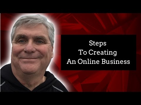 4 Steps To Creating An Online Business