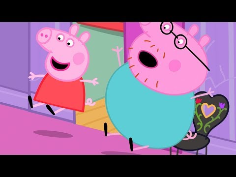 Peppa Pig Official Channel Peppa Pig Slides in Madame Gazelles House