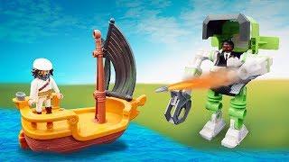 Видео про игрушки из мультика Супер 4. Руби потерялась!