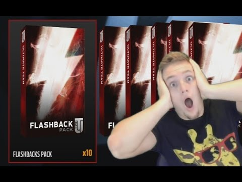 WTF 10 FLASHBACK PACKS! MASSIVE PACK OPENING SEARCH FOR 99 ANDRE JOHNSON | MADDEN 16 ULTIMATE TEAM