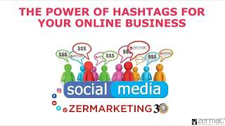 Power of Hashtags for your Online Business