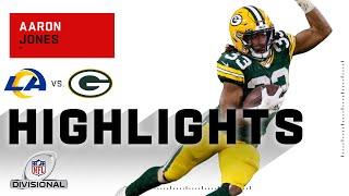 Aaron Jones Takes Off for 113 Total Yds & 1 TD | NFL 2020 Highlights