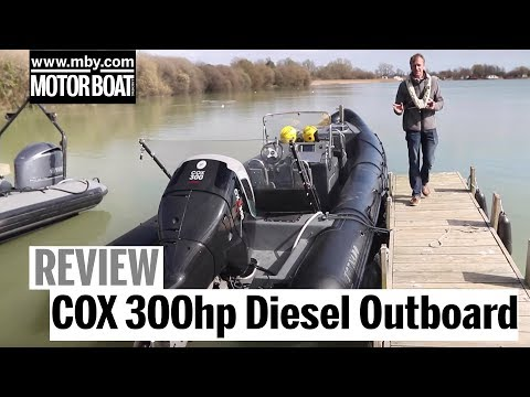 Exclusive test: World's most powerful diesel outboard | COX