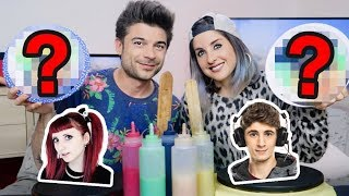 PANCAKE ART CHALLENGE - YOUTUBER EDITION