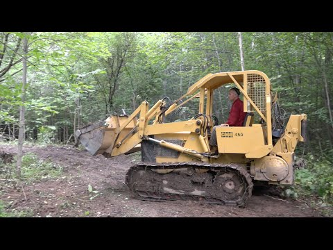 Case 450 Crawler Loader With Skidding Winch A Powermodz
