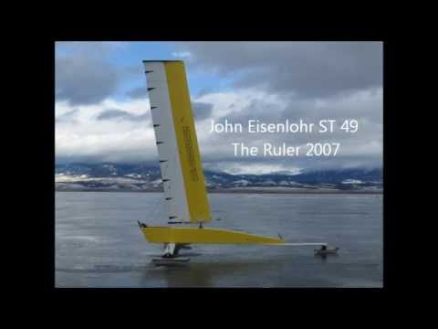 Iceboating And Landsailing The Evolution Of The Solid Wing