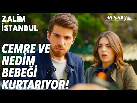 Cemre Ve Nedim Bebeği Oya'dan Kurtarıyor!🔥🔥 - Zalim İstanbul 36. Bölüm