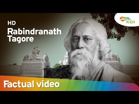 Independence Day Special |  Biopic of Legend - RABINDRANATH TAGORE | Shemaroo Kids