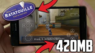[420 MB] RATATOUILLE UNRELEASED ANDROID GAME | BEST PPSSPP GAME