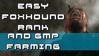 Easy Foxhound Rank & Farm GMP - Metal Gear Solid V: The Phantom Pain