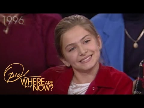 "Follow-Up: The Oprah Show Guest They Called a ""Pint-Sized Picasso"" 