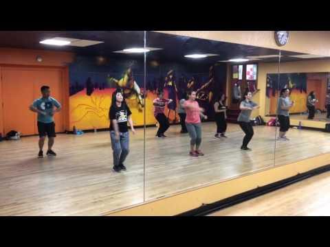 Ramon Ivey Island Fusion Dance Class - Art Walk - Part 3