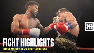 HIGHLIGHTS | Shane Mosley Jr. vs. Cristian Olivas