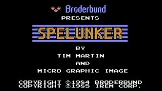 Spelunker - NES Gameplay