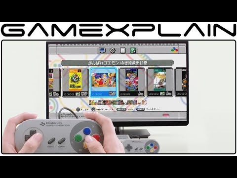 Super Famicom Classic - Overview Trailer (UI & Rewind Feature Revealed!)