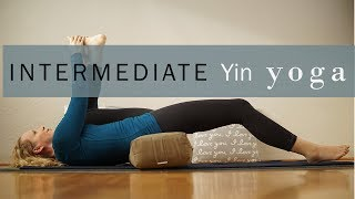 Intermediate Yin Yoga for Hips 80 mins Yoga with Dr. Melissa West 413