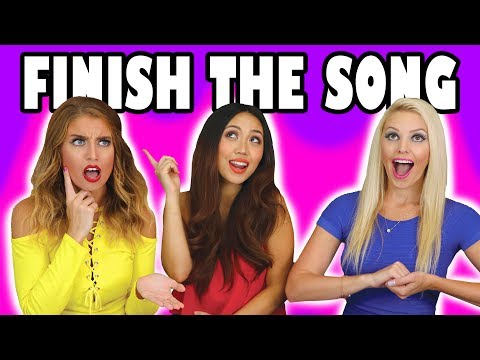 Finish The Lyric Challenge with Fun Songs . Who Eats Alligator? Totally TV