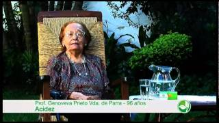 BERDIANA - ACIDEZ, TESTIMONIO DE GENOVEVA PRIETO SOBRINO (SPOT COMERCIAL)