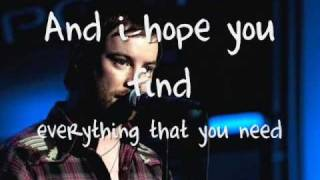 David Cook- Come back to me lyrics [ON-SCREEN!]