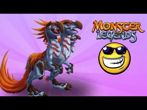✅ LEGEND $$ TRYON GÀ LAI RỒNG VÀ RẾT CỰC DỊ !! - Monster Legends Game Mobiles - Android, Ios
