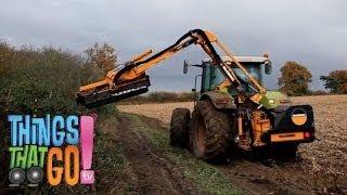 HEDGE CUTTER: Farm machines for kids| children| toddlers. Preschool & Kindergarten learning.