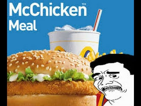 Jerking off with a mcchicken