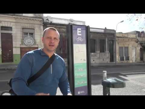 Quick ride around Montevideo   Streetfilms