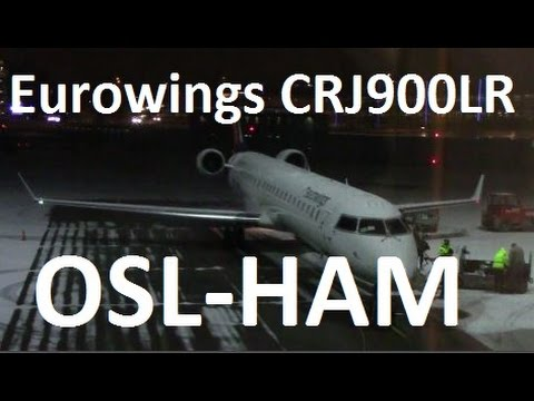 Eurowings Flight EW4197 Oslo-Hamburg Including De-Icing at OSL