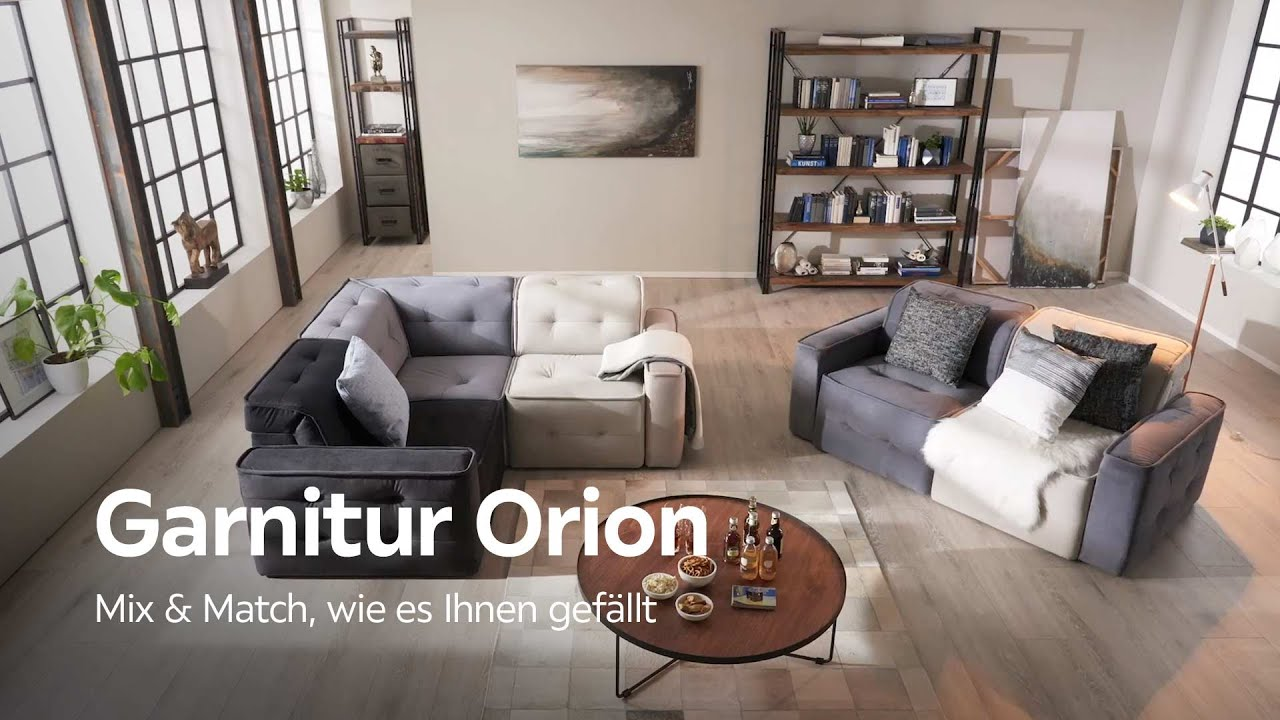 Carryhome Couchtisch Elementgarnitur Orion - Individuelle Mix And Match Couch Von Carryhome - Youtube