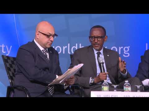 President Kagame speaks at World Bank session on Maximizing