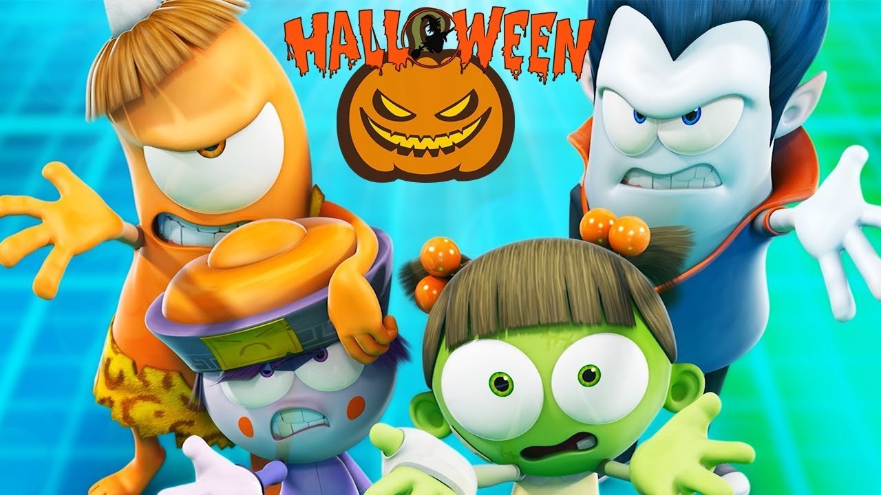Funny Animated Cartoon | Spookiz | 🎃 👻 Halloween Party ...
