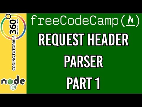 Request Header Parser Part 1: Free Code Camp API and Microservice Backend Development