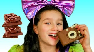 Chocolate Challenge for kids - Edible or inedible from Alice and Toys