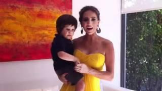 Andrea rumbo a la alfombra roja de los Premios Billboard 2012 Thumbnail